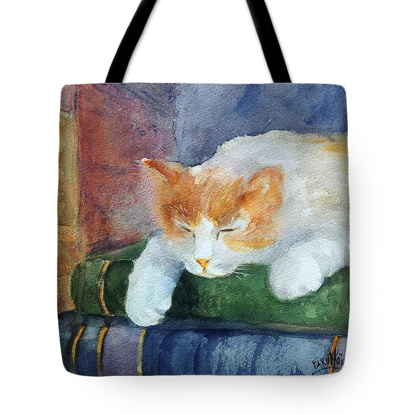 Sweet Dreams On The Books Tote Bag by Faruk Koksal