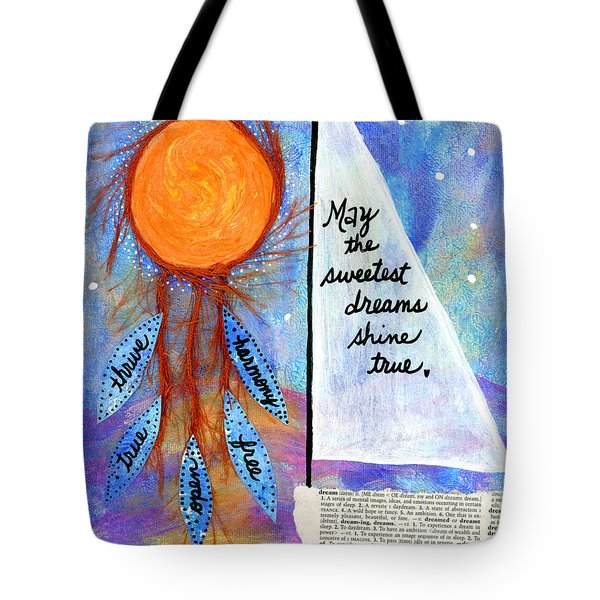 Sweet Dreams Shine Tote Bag