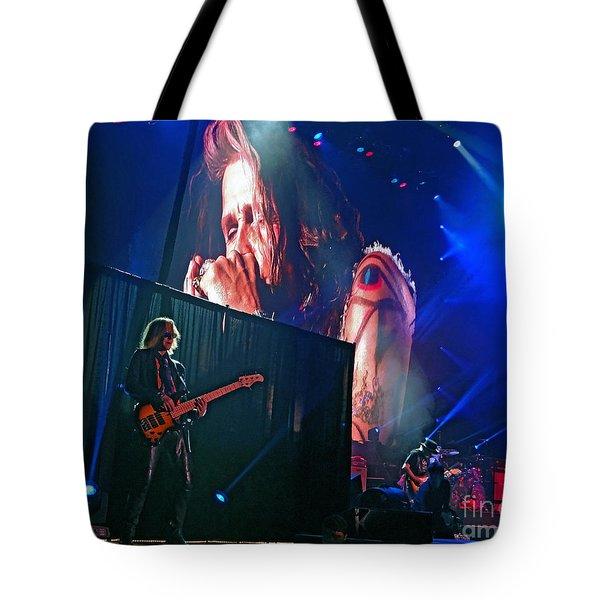 Dream On. Aerosmith Live  Tote Bag