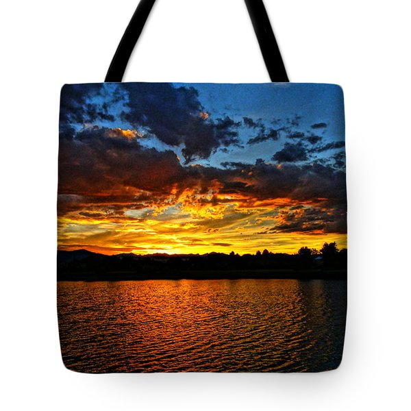 Tote Bag featuring the photograph Sweet End Of Day by Eric Dee