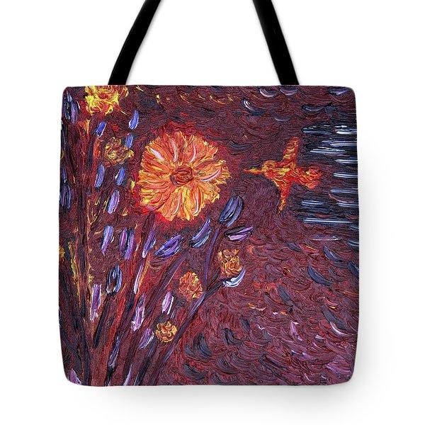 Sweet Flower Tote Bag by Vadim Levin