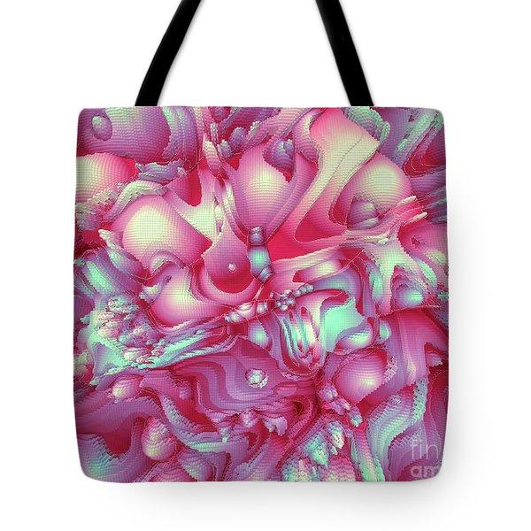 Sweet Flowers 2 Tote Bag by Moustafa Al Hatter