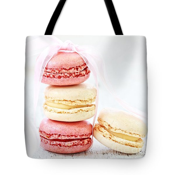 Sweet French Macarons Tote Bag