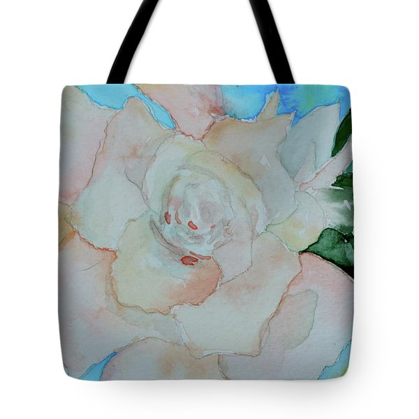 Tote Bag featuring the painting Sweet Gardenia by Beverley Harper Tinsley