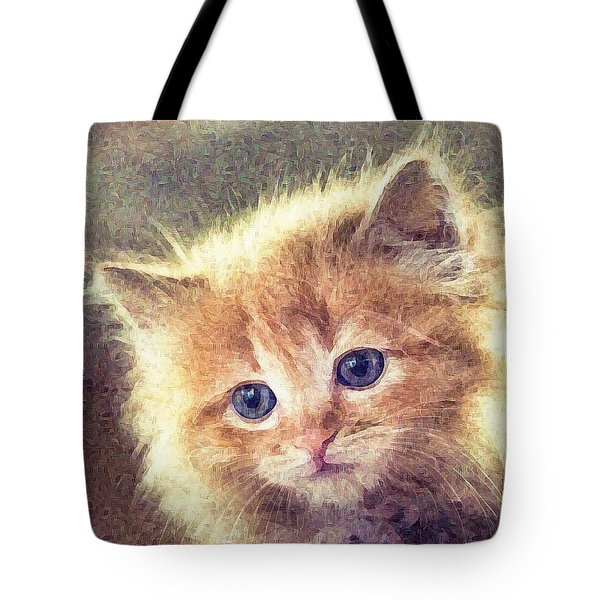 Sweet Ginger Fuzz Tote Bag