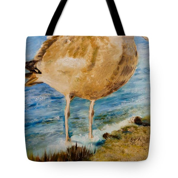 Sweet Gull Chick Tote Bag