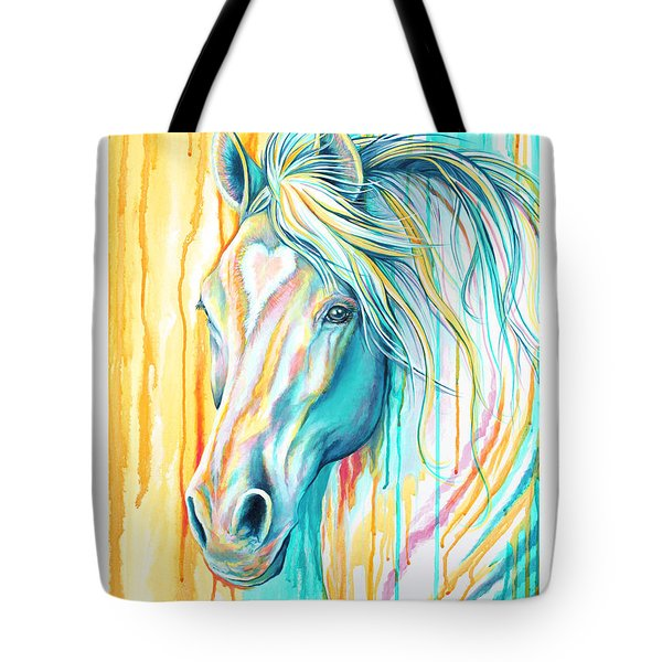 Sweet Heart Horse Tote Bag