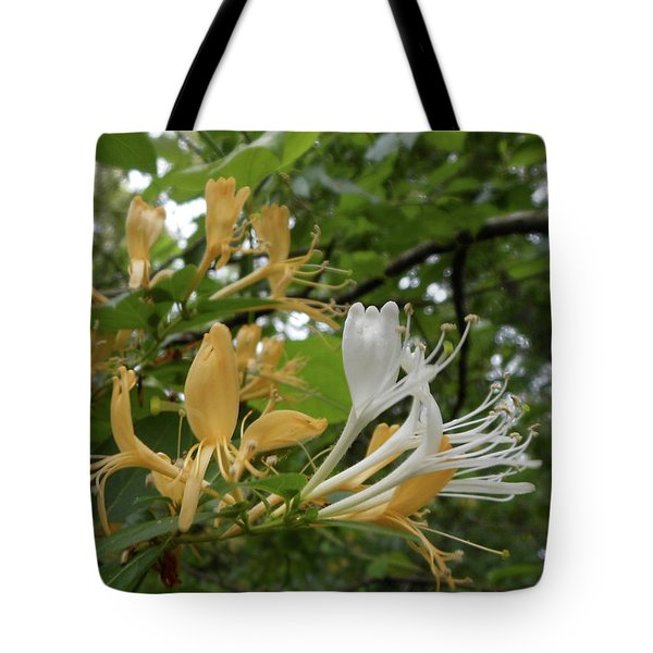 Sweet Honeysuckle Shrub Tote Bag