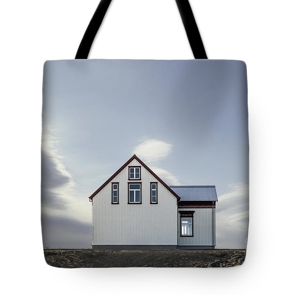Sweet House Under A White Cloud Tote Bag