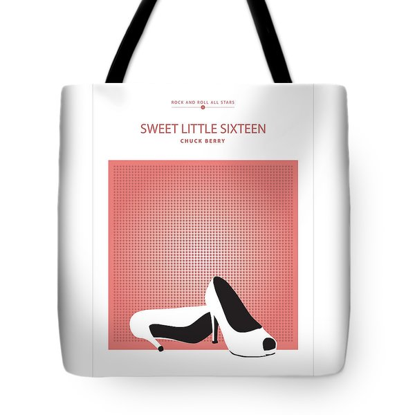 Sweet Little Sixteen -- Chuck Berry Tote Bag