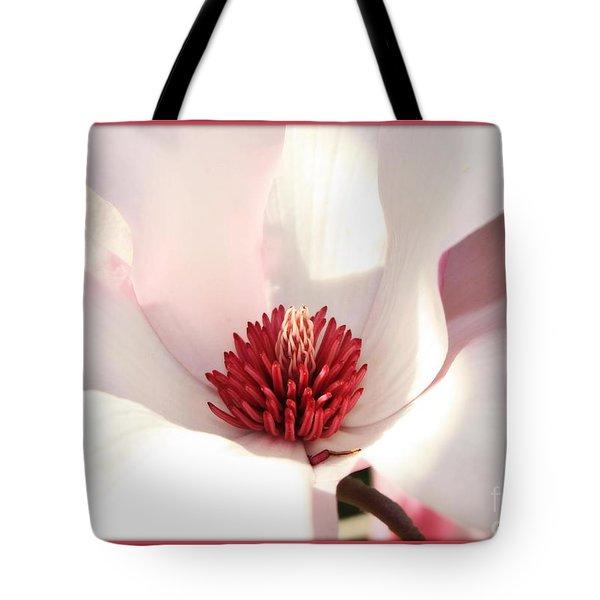 Sweet Magnolia Tote Bag by Carol Groenen