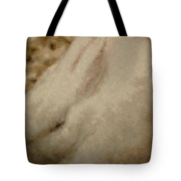 Sweet Marshmallow Tote Bag by The Art Of Marilyn Ridoutt-Greene