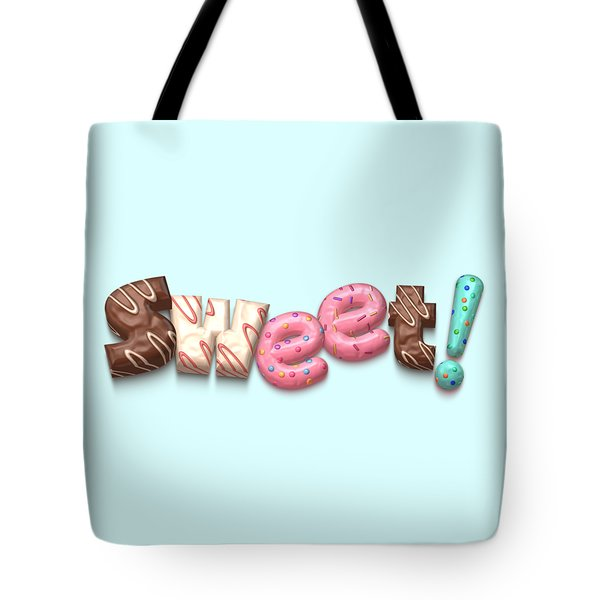 Tote Bag featuring the digital art Sweet  by Mary Machare