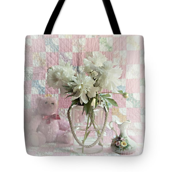 Sweet Memories Of Four Generations Tote Bag