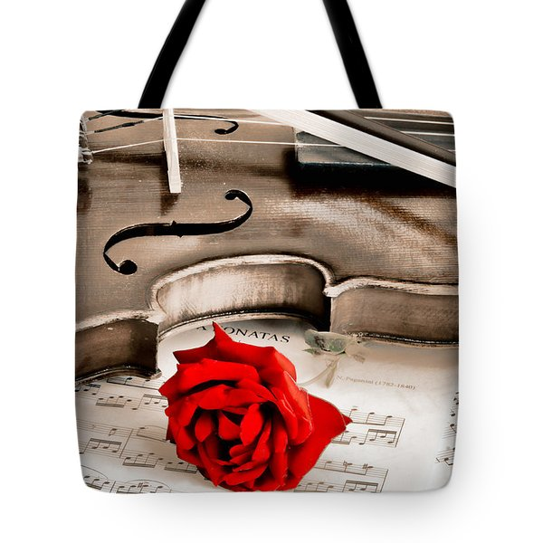 Sweet Music Tote Bag