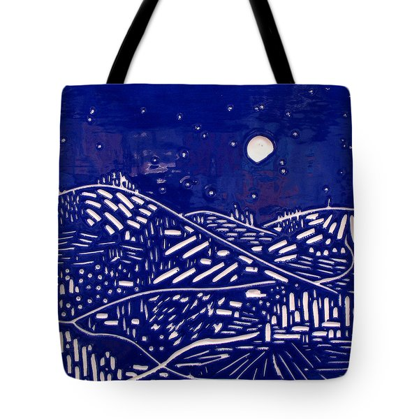 Sweet Night Tote Bag by Jason Messinger