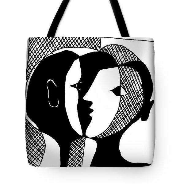 Tote Bag featuring the digital art Sweet Nothings by Vagabond Folk Art - Virginia Vivier