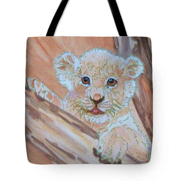 Tote Bag featuring the painting Sweet One by Connie Valasco