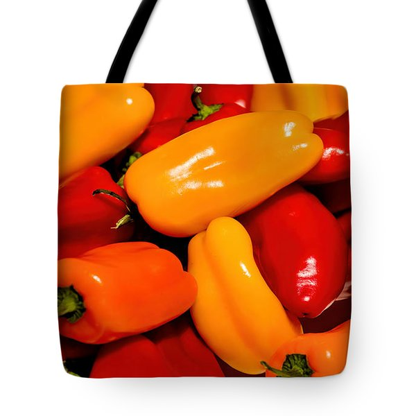 Sweet Peppers Tote Bag