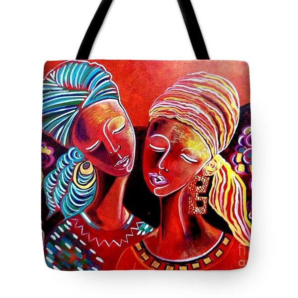Sweet Sisters Tote Bag