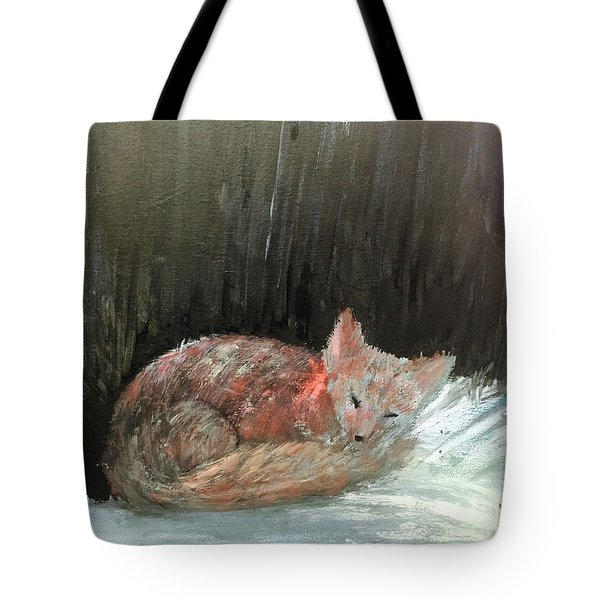 Sweet Slumber Tote Bag by Trilby Cole
