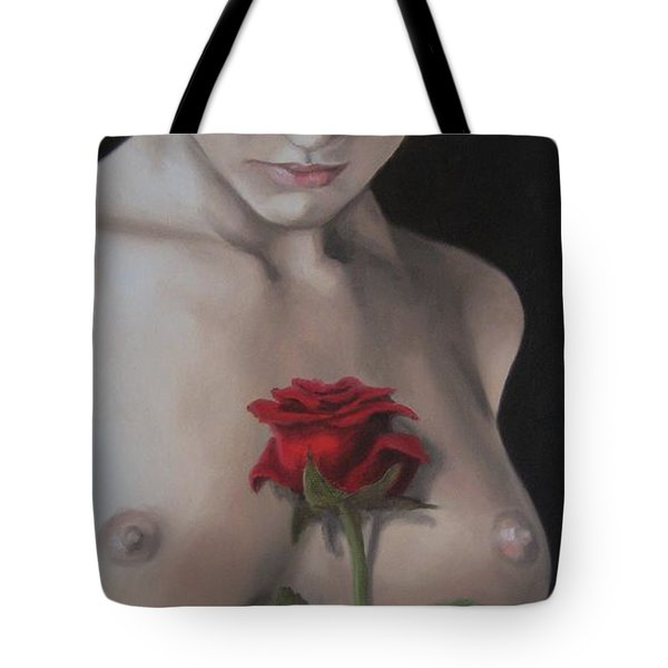 Sweet Smell Of Sin Tote Bag by Jindra Noewi