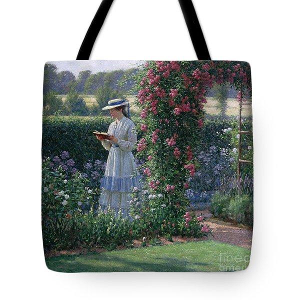 Sweet Solitude Tote Bag by Edmund Blair Leighton