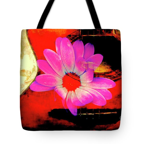 Tote Bag featuring the photograph Sweet Sound by Al Bourassa