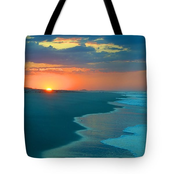 Tote Bag featuring the photograph Sweet Sunrise by  Newwwman