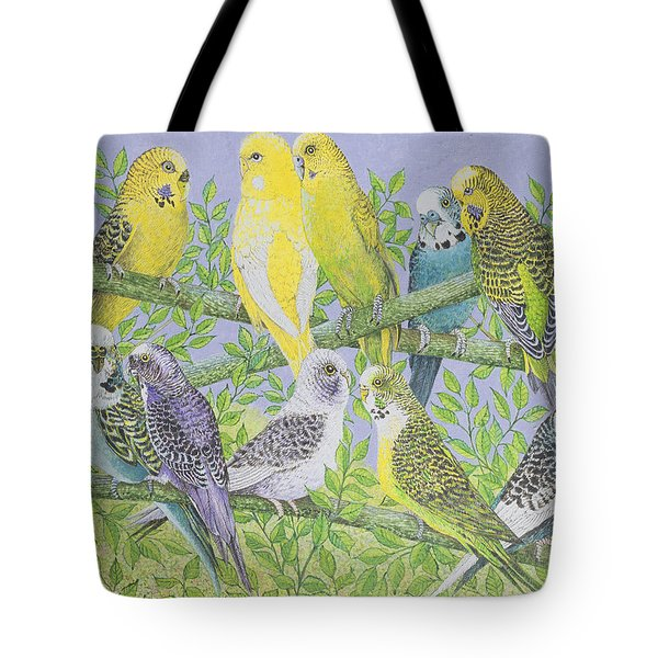 Sweet Talking Tote Bag by Pat Scott