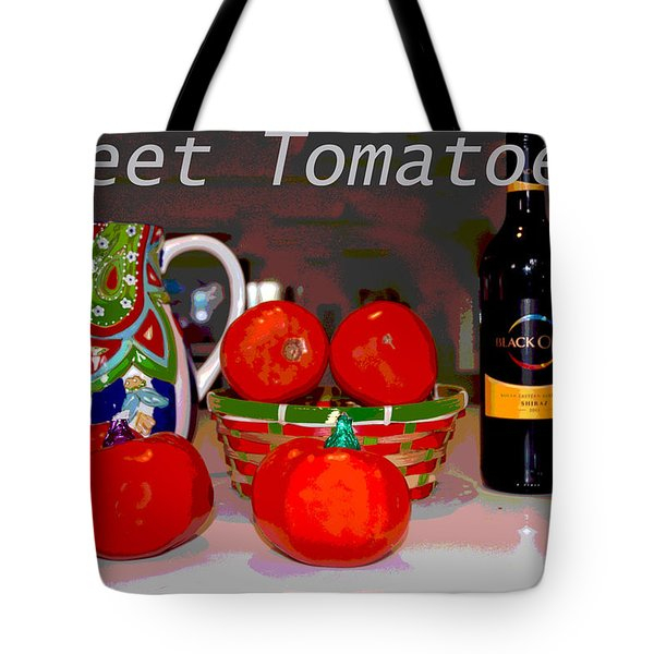 Sweet Tomatoes Tote Bag