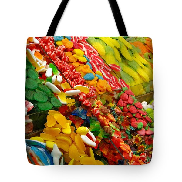 Tote Bag featuring the photograph Sweet Tooth by Sue Melvin