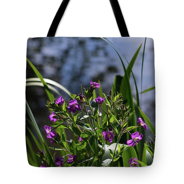 Sweet Violet Tote Bag
