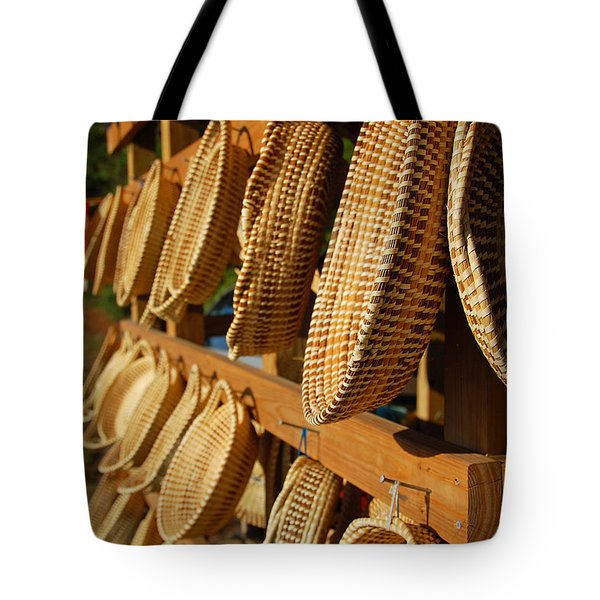 Sweetgrass Baskets Tote Bag