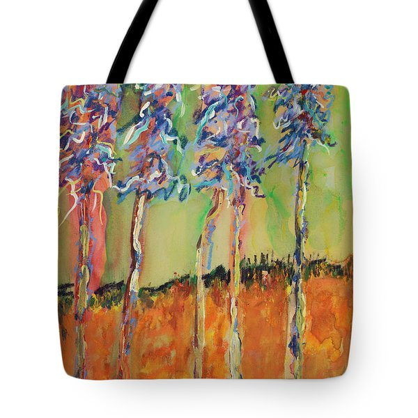 Sweetheart Hill Tote Bag by Pat Saunders-White