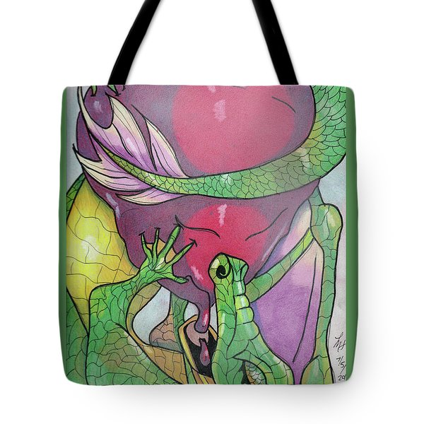 Sweetheart Tote Bag by Loretta Nash
