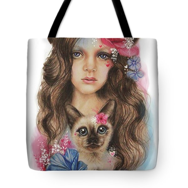 Sweetheart Tote Bag by Sheena Pike