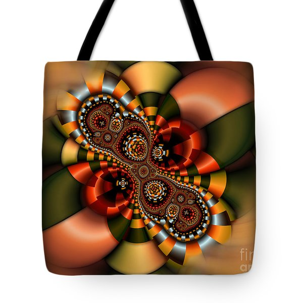 Tote Bag featuring the digital art Sweets by Karin Kuhlmann
