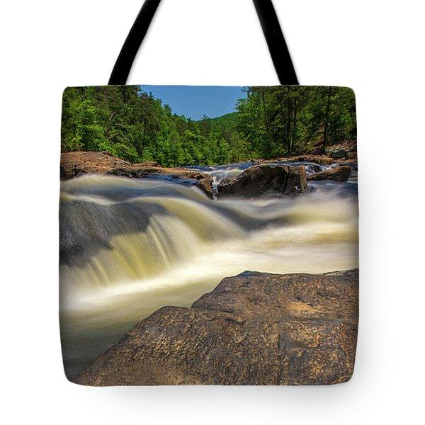 Sweetwater Creek Long Exposure 2 Tote Bag