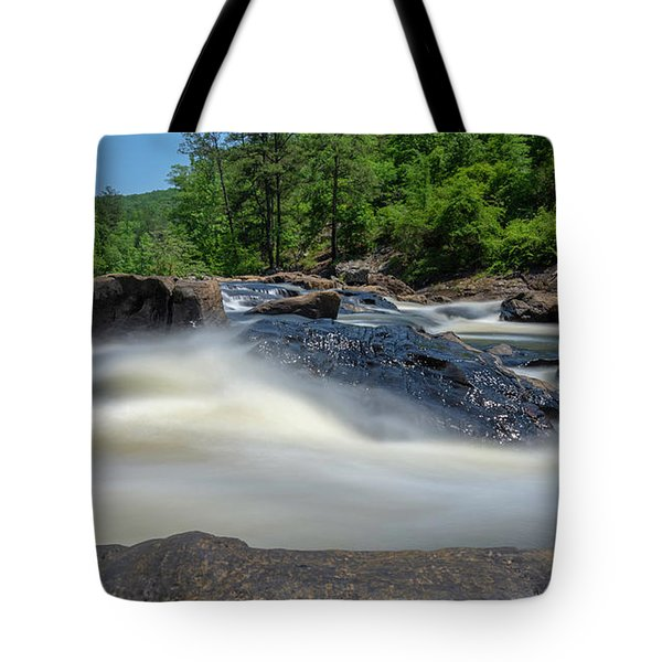 Tote Bag featuring the photograph Sweetwater Creek Long Exposure by Keith Smith