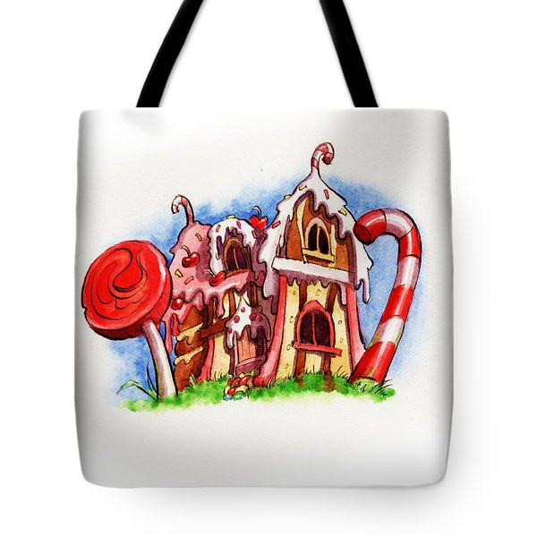 Sweety House Tote Bag