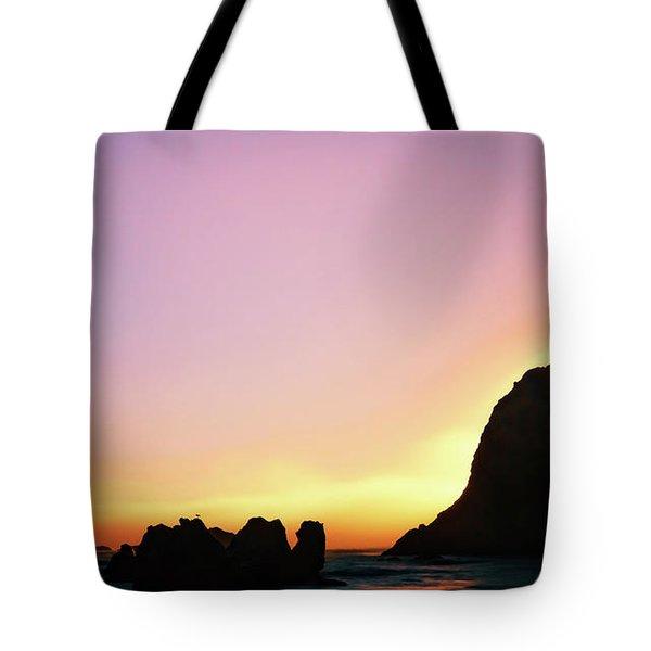 Swept Away Beach Image Art Tote Bag