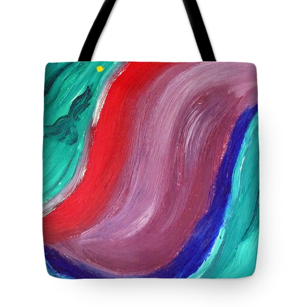 Swerve Tote Bag