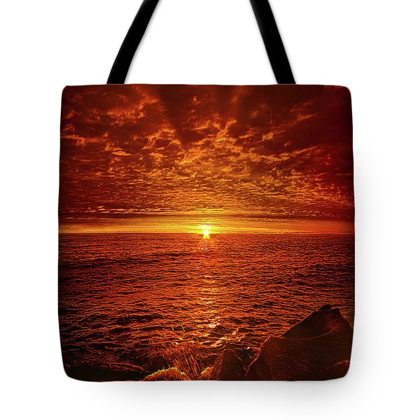Tote Bag featuring the photograph Swiftly Flow The Days by Phil Koch