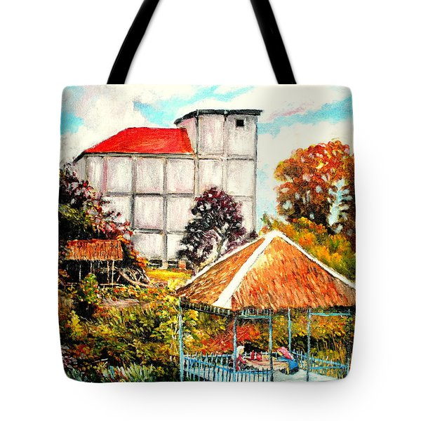 Swifts  Nest's Building Tote Bag