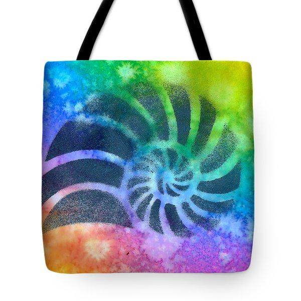 Swim Nautilus Tote Bag