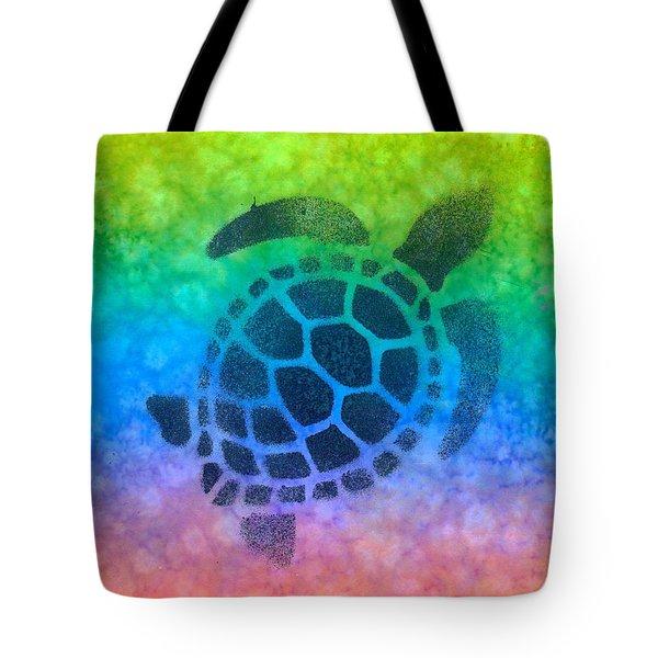 Swim Turtle Tote Bag