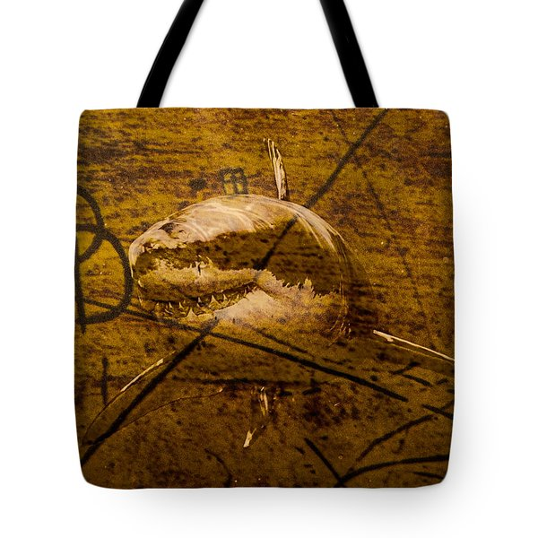 Tote Bag featuring the photograph Swim With Sharks by Randy Sylvia