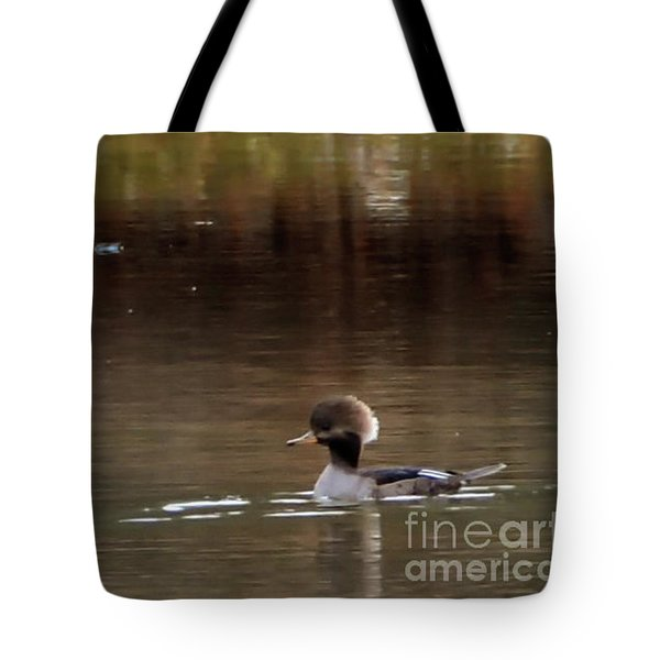 Swimming Alone Tote Bag by Tamera James