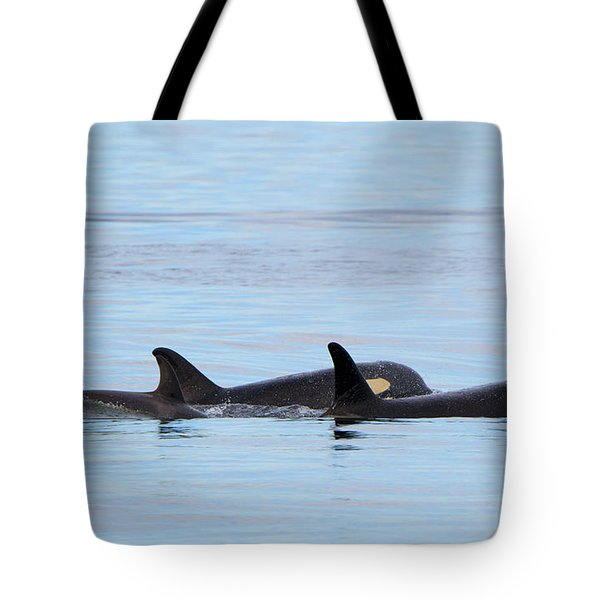 Swimming Close Tote Bag